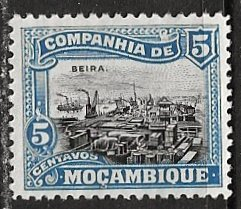 Mozambique Company ~ Scott # 120 ~  Unused ~ No Gum
