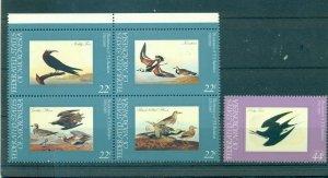 Birds - Micronesia - Sc# 25-8,C15. 1985 Birds. MNH. $3.40.