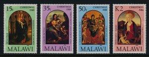 Malawi 538-41 MNH Christmas, Art
