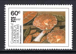 Dominica 1025 Mushrooms MNH VF