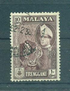 Malaya - Trengganu sc# 80 used cat value $.60