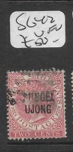 MALAYA SUNGEI UJONG (P0501B) QV 2C  SG 42   VFU
