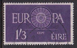 Ireland   #176  used  1960   Europa     1sh3p
