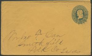 TEXAS POLK COUNTY (1800's Smithfield) #676