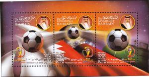G)2002 BAHRAIN, FIFA WORLD CUP 2002 KOREA-JAPAN, S/S. MNH