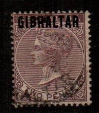 Gibraltar #3  Used  Scott $92.50