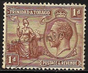Trinidad and Tobago 1922 Scott# 22 Used