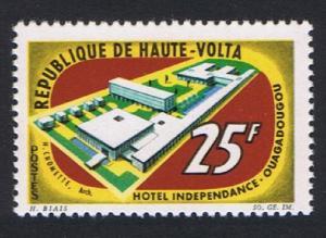Upper Volta Opening of Independence Hotel Ouagadougou 1v 1964 MNH SG#153