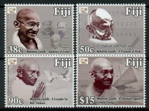 Fiji 2018 MNH Mahatma Gandhi 150 Years 4v Set Famous People Stamps