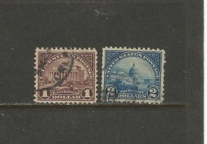 USA Postage Stamps Used