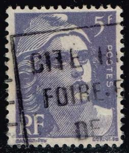 France #650 Marianne; Used (0.25)