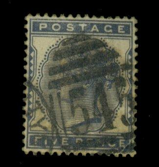 Great Britain #85 Used F-VF Heavy Cancel Cat$110