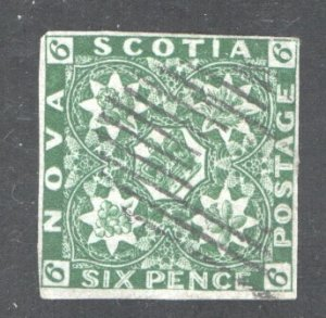 NOVA SCOTIA #5, VF, Used.  CV 2250.00   ....   4590002
