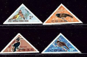 South Vietnam 364-67 MNH 1970 Birds    (ap2967)