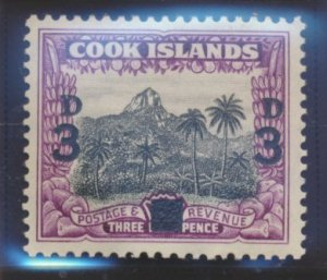 Cook Islands Stamp Scott #115, Mint Lightly Hinged - Free U.S. Shipping, Free...