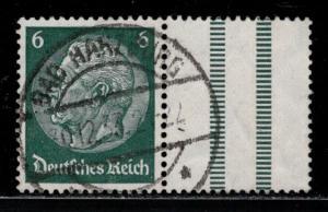 Germany Scott # 403, label, used