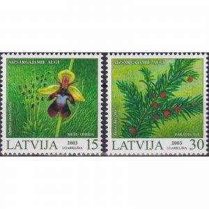 Latvia 2003 Protected Plants of Latvia  (MNH)  - Flora, Flowers