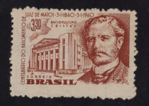 Brazil  #904  1960   MH Luiz de Matos