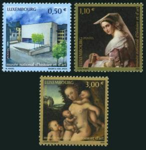 Luxembourg 1149-1151,MNH. National Museum of History & Art.2004.Luigi Rubio,