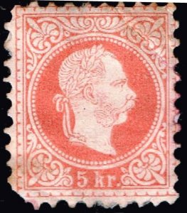 AUSTRIA STAMP 1867 -1874 Issues of Austro-Hungarian Monarchy MHR/OG CREASE $75