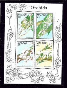 Malawi 581a MNH 1990 Orchids