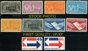 SPECIAL DELIVERY SALE   E-14 THRU E23 MINT OGNH