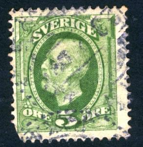 SWEDEN - SC #56 - used - 1891 - Item SWEDEN001