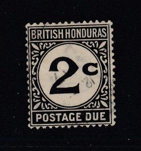 British Honduras, Sc J2 (SG D2), used