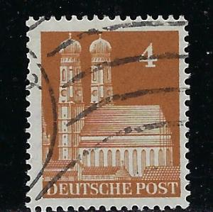 Germany AM Post Scott # 635a, used