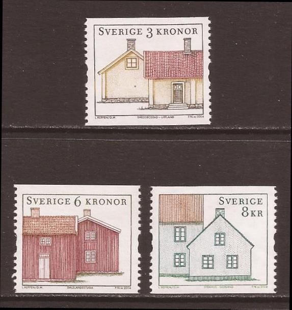Sweden scott #2485-87 m/nh stock #35217