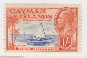 British Colony Cayman Islands 1935 1s MH* Stamp A22P19F8952