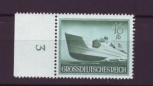 J7116 JLs stamps 1944 mnh WWII nazi germany torpedo boat