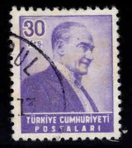 TURKEY Scott 1202 Used stamp