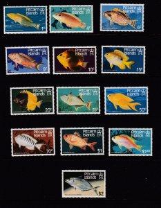Pitcairn Islands 231-243 MNH 1984