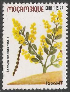 MOZAMBIQUE 1169 MNH FLOWERS Z376