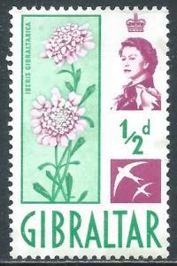 Gibraltar, Sc #147, 1/2d MH