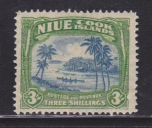 Niue 75 F-VF-MLH nice color scv $ 28 ! see pic !