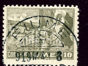 Fiume 43a Used 1919 issue    (ap3371)