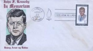PHILIPPINES - JOHN F. KENNEDY - Overseas Mailers