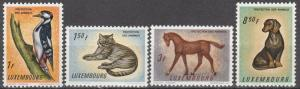 Luxembourg #376-9   MNH F-VF  (S150)