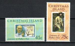 Christmas Island 275-276 MNH
