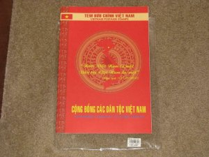 VIETNAM COMMUNITY OF ETHNIC GROUPS-2005, MNH IN ORIGINAL FOLDER FROM VIETNAM