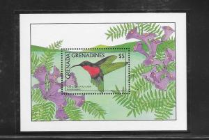 BIRDS - GRENADA GRENADINES #963-HUMMINGBIRD   MNH