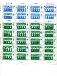 Gurnsey 1984  Europa sheets Mint VF NH - Lakeshore Philatelics