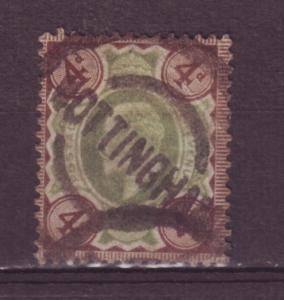 J13814 JLstamps 1902-11 great britain used #133 KEVII