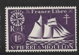 Saint Pierre and Miquelon Mint Never Hinged [4152]