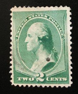213 American Bank Note, circulated single, Vic's Stamp Stash