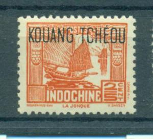 French Offices in China Kwangchowan sc# 137 mh cat value $.25