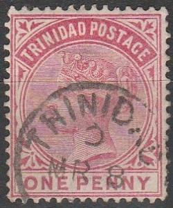 Trinidad #69 F-VF Used  (V588)