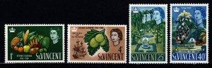 St Vincent 1965 Bicentenary of Botanic Gardens, Set [Unused]